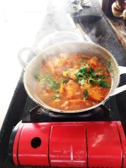 Körili Balkabağı (Pumpkin Curry)