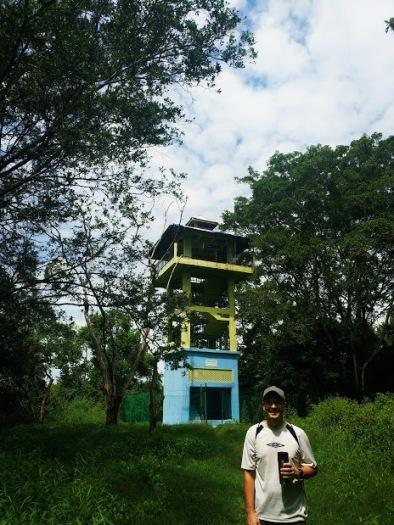 Kuala Selangor Doğal Parktaki Kuş Gözetleme Kulesi