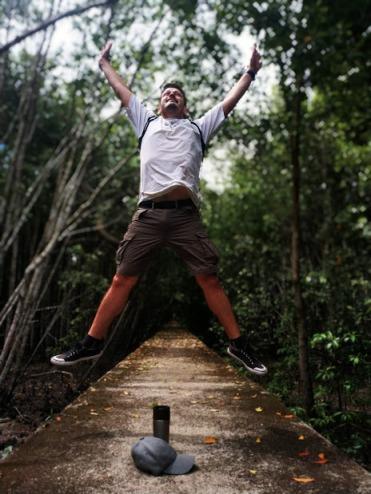 Kuala Selangor Doğal Parktaki Mangrove Ormanları