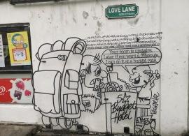 Georgetown Sokak Karikatürleri