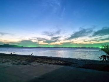 Langkawi'de gün batımı