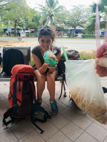 Kuala Perlis Otogarında yolluk kahvelerimiz