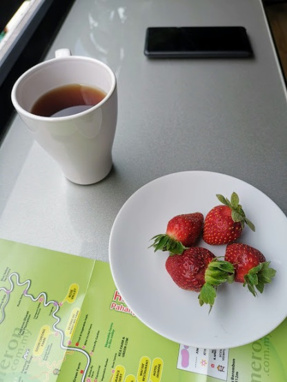 tüm gün ikram edilen çay kahve
