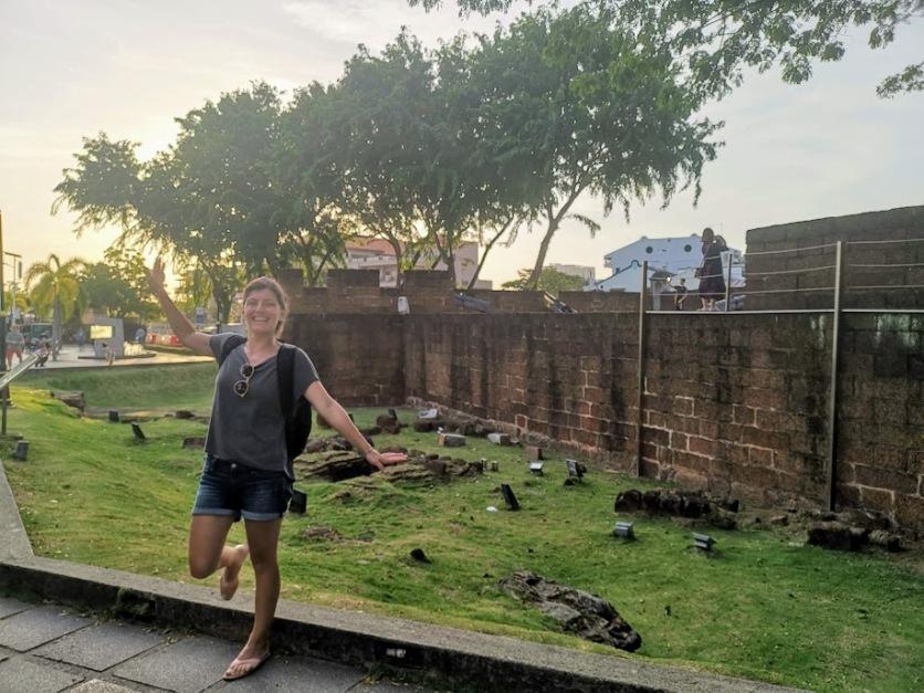 Melaka Kalesi Kalıntıları