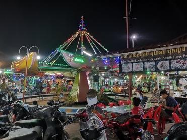 Kampot gece pazarı