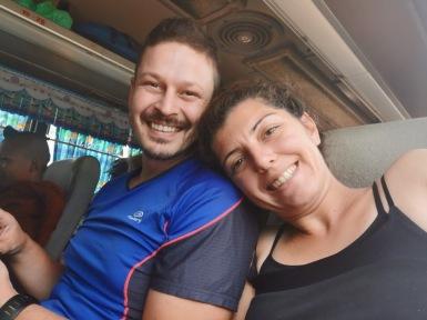 Kampot-Koh Kong arası ikinci bindiğimiz otobüs yolculuğumuz