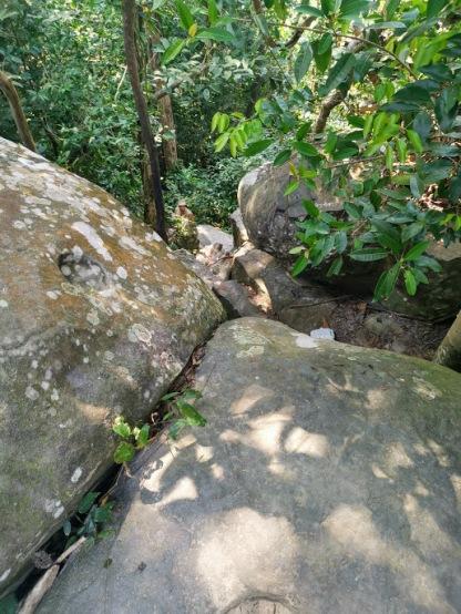 Windy Rock'dan sonraki kaya inişi