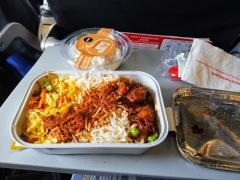 AirAsia yemekleri