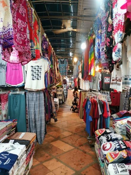 Siem Reap Gece pazarı