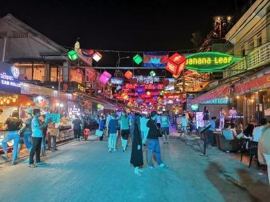 Siem Reap barlar sokağı