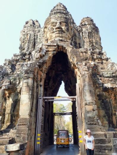 Angkor Thom giriş kapıları