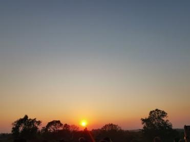 Pre Rup Tapınağında gün batımı