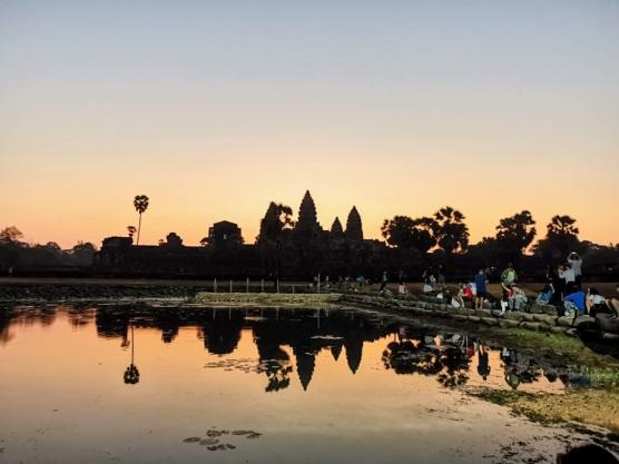 Angkor Wat gün doğumu