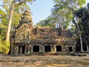 Preah Khan Tapınağındaki ateş evler