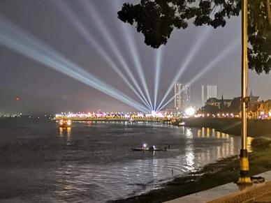 Mekong Nehri kenarı