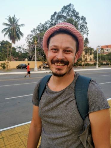 Phnom Penh sokaklarında dolanırken
