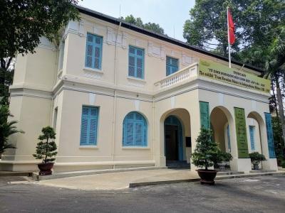 Bağımsızlık Sarayı'nın sergi bölümü