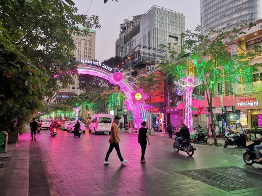 Nguyen Hue Yürüyüş Yolu