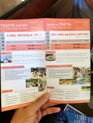 oteldeki broşürler