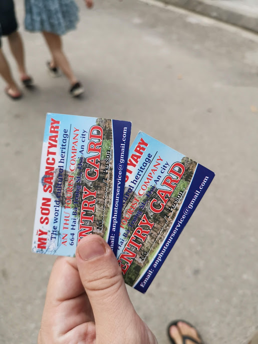 bilet yerine geçen kartvizitler