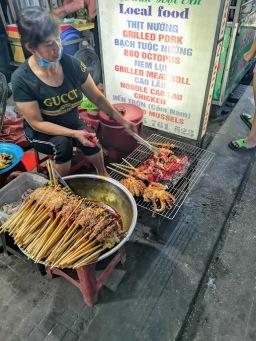 Hiếu Hiền street BBQ