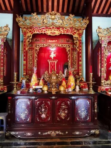 aile tapınağının içi