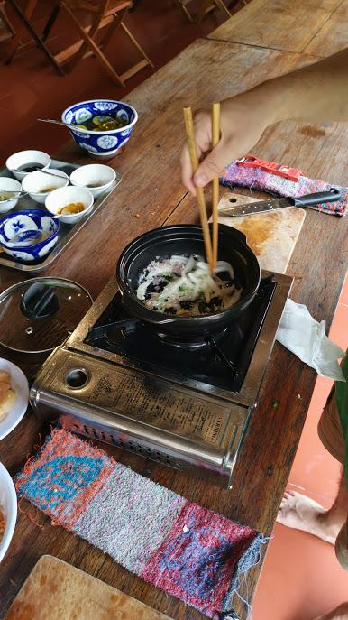 Fish in claypot
