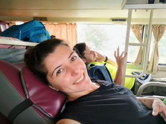 Hoi An'dan Da Nang'a otobüs yolculuğu