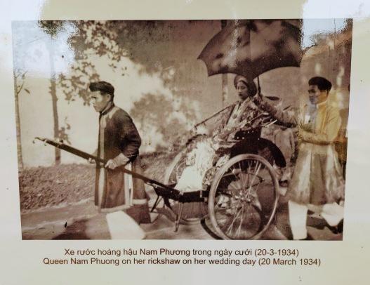 Eski günlerde Rickshaw