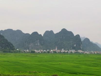 Phong Nha civarındaki bir köy