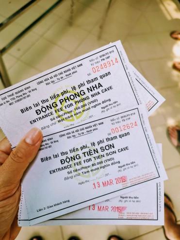 Phong Nha ve Tien Son Mağaraları biletleri