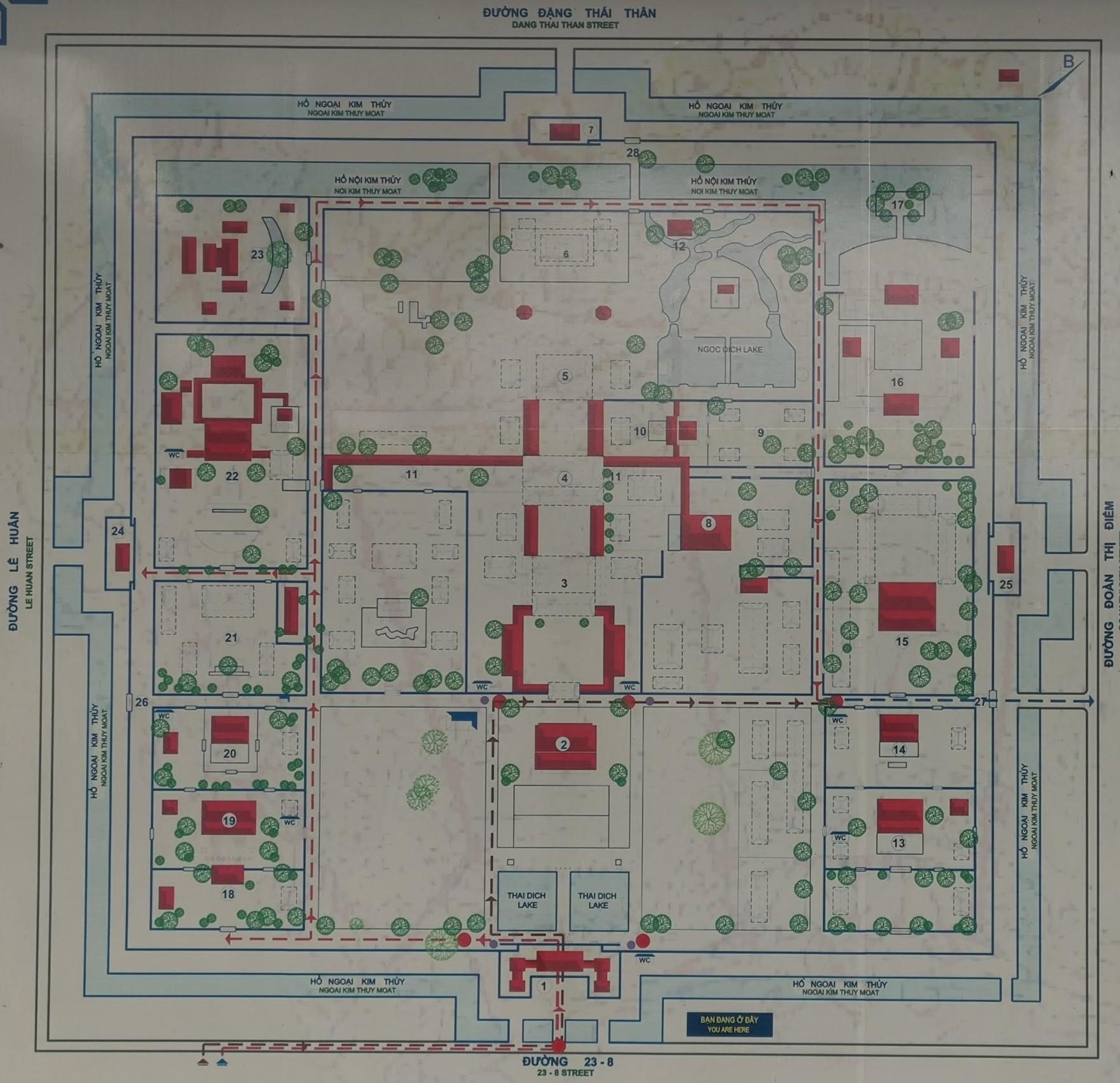 Hue İmparatorluk Şehri Planı