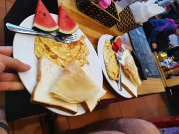hostelin kahvaltısı