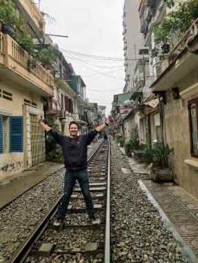 Hanoi Tren Sokağı