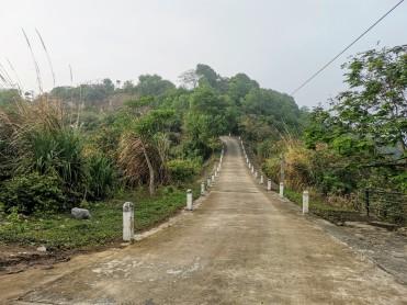 Kale yolu manzarası