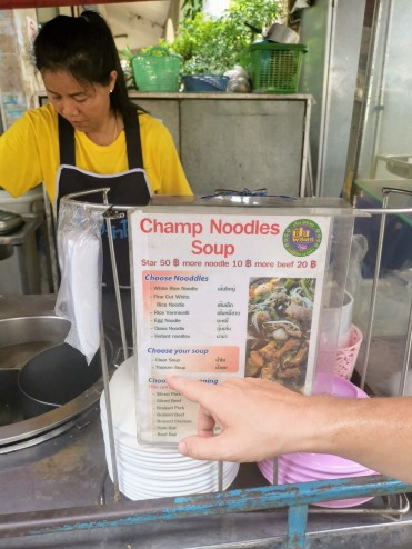 Champ Noodles Soup