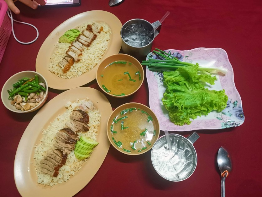 Four Praya Chicken Rice Street Food