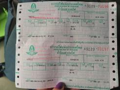 Bangkok-Hua Hin tren biletlerimiz