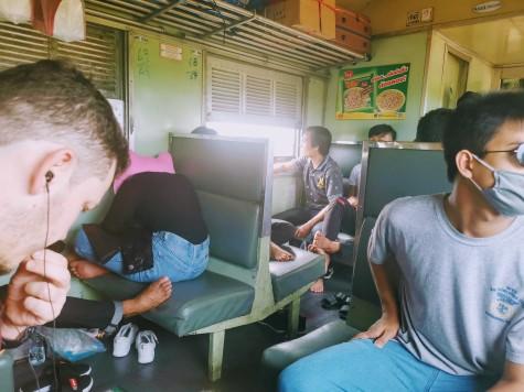 Bangkok-Hua Hin tren yolculuğu