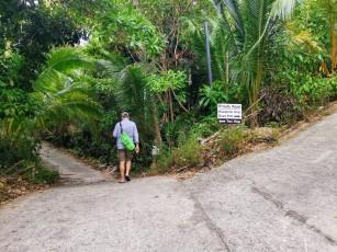 Koh Tao Two View yürüyüş yolu