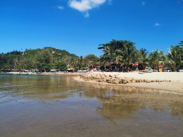 Mae Haad Beach Resort tarafı