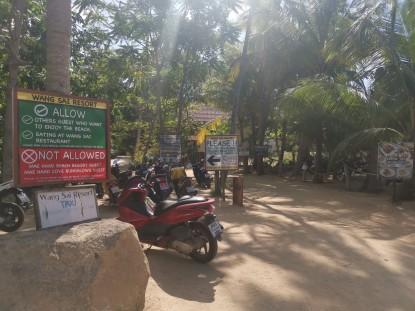 Wai Sai Resort girişi