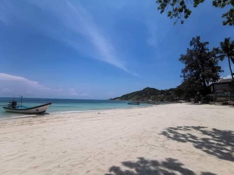 Fullmoonun yapıldığı Haad Rin Beach