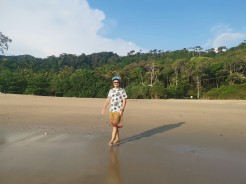 yol üzerindeki diğer plaj