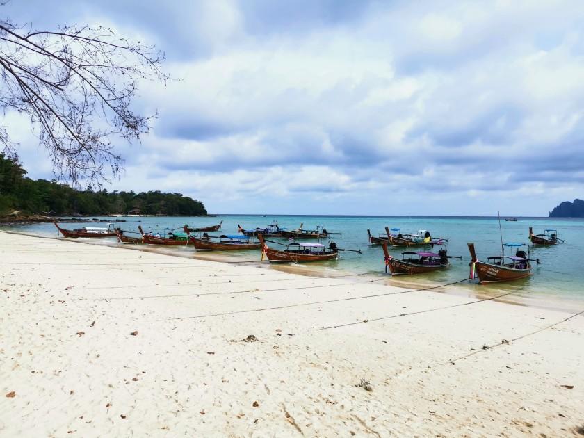 Phi Phi Adası long tail boat