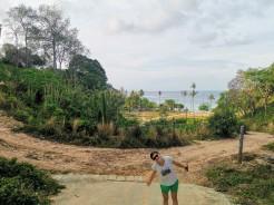 Loh Moo Dee Beach yürüyüş yolu