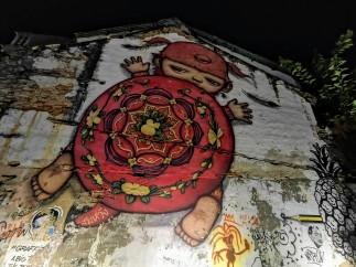 Phuket Old Town duvar resimleri