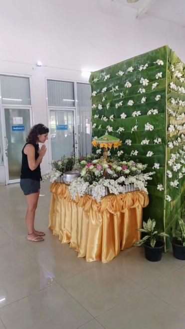 Songkran festivali hazırlıkları